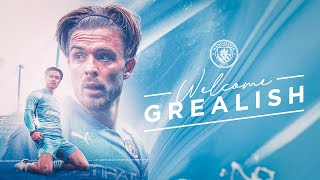 JACK GREALISH SIGNS FOR MANCHESTER CITY