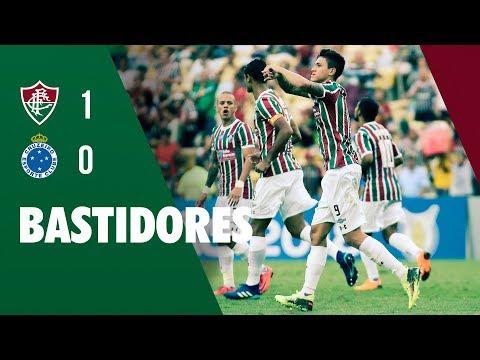 FluTV - Bastidores - Fluminense 1 x 0 Cruzeiro - Campeonato Brasileiro