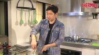 THERMOS 膳魔師_MASA示範蘋果鍋料理(奶油白醬雞肉燉菜)