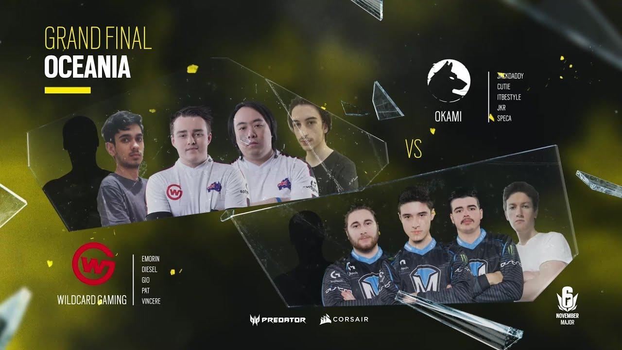 Wildcard Gaming vs Okami // November Six Major 2020 – Oceania Final
