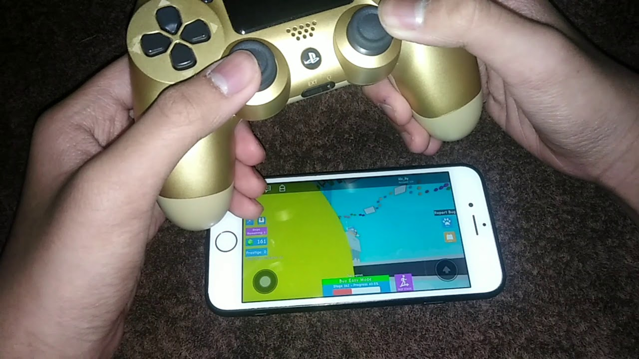 How To Play Roblox Using Ps4 Controller In Ios 2020 Youtube