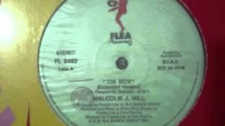 MALCOLM  J. HILL - TIN BOX