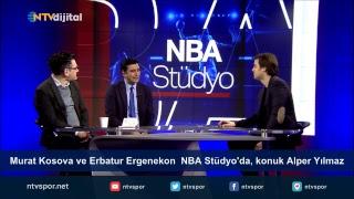 Murat Kosova ve Erbatur Ergenekon  NBA Stüdyo'da, konuk Alper Yılmaz