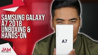 Samsung Galaxy A7 2018 Unboxing and Hands-On: Our second look on the smartphone