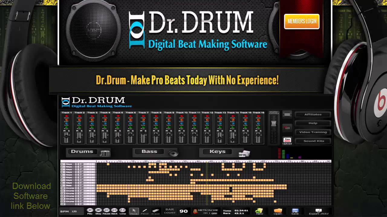 Dr drum beat maker review | beat generals review beat making.