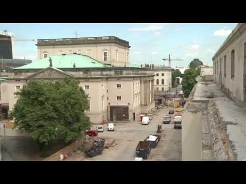 Generalsanierung der Staatsoper Unter den Linden (Stand 2014 / Juli)