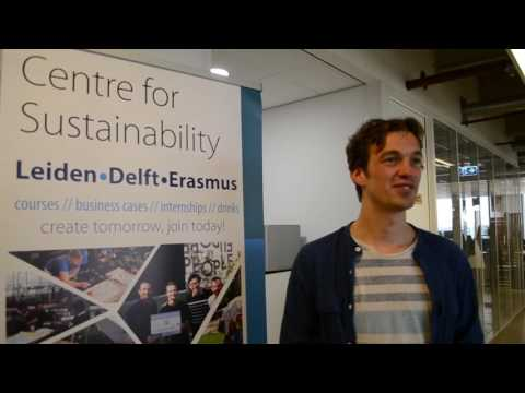 Jan Portheine founder of KarTent Interviewed by Centre for Sustainability