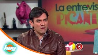 ¡Jorge Salinas confiesa que ha besado a un hombre! | Entrevista Picante | Hoy