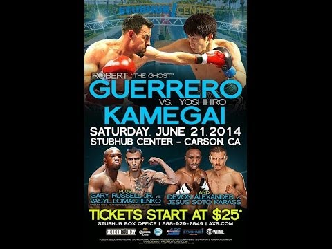 Gary Russell Jr vs. Vasyl Lomachenko, Robert Guerrero & Devon Alexander Pre-fight Debate 2014
