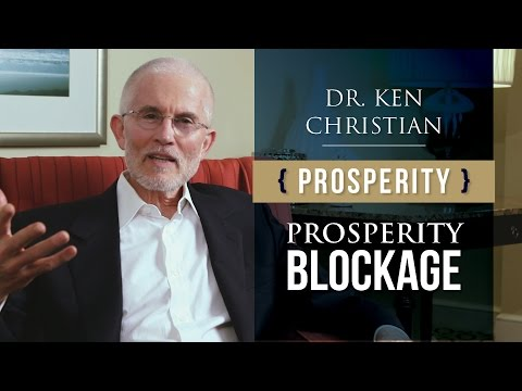 Achieving Prosperity: Blocks to Achieving It