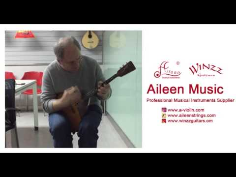 【Aileen Music】Russian Ethnic Musical Instruments Balalaika Solo