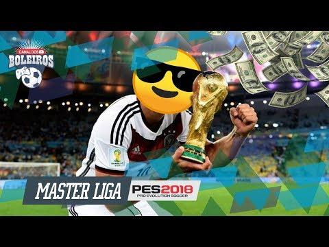 PES 2018  CONTRATEI O GRINGO MAIS QUERIDO DO BRASIL!!  MASTER LIGA 11