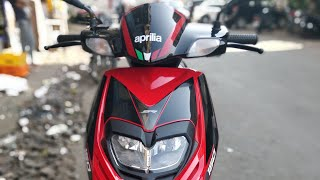 Aprilia SR150 Abs 2019 model || First Ride Review