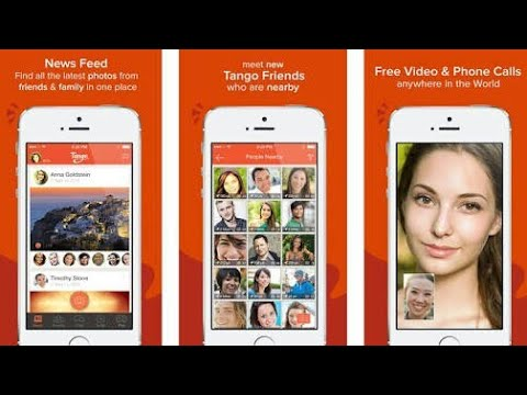 How To Tango Free Video Call & Chat Android App Tango - YouTube