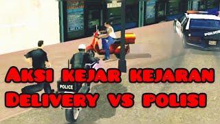 Gambar cover Aksi kejar kejaran‼️‼️ delivery vs polisi-Sidimpuan.dubbing
