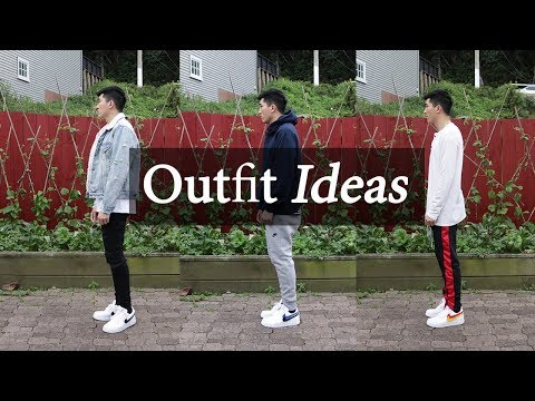 outfits with white nike air force