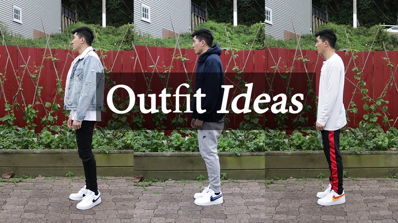 outlet store 5b675 ba19a Outfit Ideas w  Nike Air Force 1   Swoosh Pack Lookbook