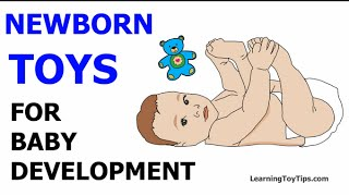 NEWBORN TOYS: BEST GIFTS FOR BABY DEVELOPMENT