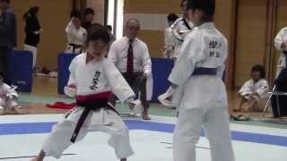 JKA Mahiro & Miyu kihonipponn 協会県大会 万優&美優組手決勝戦 thumbnail