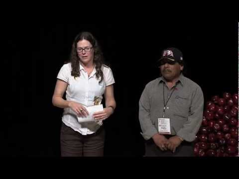 TEDxFruitvale -  Sandy Brown and Adelfo Antonio-Life on A Unionized Organic Farm