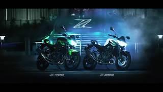 2019 Kawasaki Z400/Z250 - Action Video