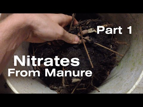 Nitrates from Manure - Part 1: Dissolution