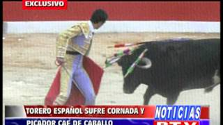 CHOTA INCIDENTES CORRIDA DE TOROS
