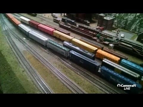 Medina Railroad Museum Live Layout Operations