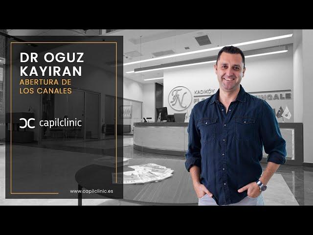 Trasplante Capilar en Turquía con Capilclinic  - Abertura de los canales con l Dr. Oguz