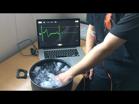 Activate Sympathetic Nervous System with Ice Water Stimulus