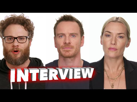 Steve Jobs 2015: Full Cast Behind the Scenes Movie Interview - Michael Fassbender