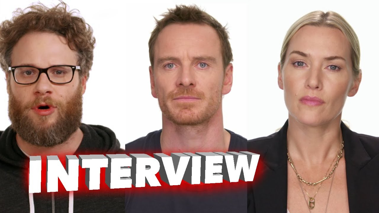 Steve Jobs 2015: Full Cast Behind the Scenes Movie Interview ...