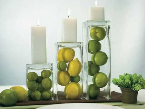 Inexpensive Wedding Centerpieces Ideas - YouTube