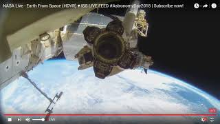 Video Earth From Space on Nasa Live Feed ISS FOOTAGE - Astronomy day 2018 download MP3, 3GP, MP4, WEBM, AVI, FLV Juli 2018