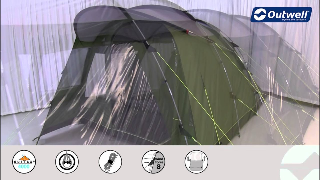 & Outwell Palm Coast 600 Tent | Innovative Family Camping - YouTube