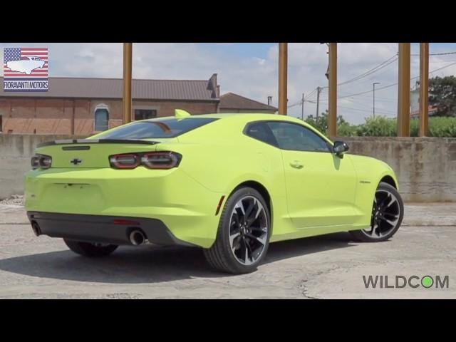 Chevrolet Camaro 2020 2.0 Turbo: i brevi di Fioravanti Motors