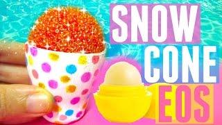 DIY SNOW CONE EOS | DIY EOS Lip Balm | DIY Christmas Gift