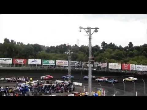 Hobby Stock Heat 1 - Husets Speedway 8-17-14