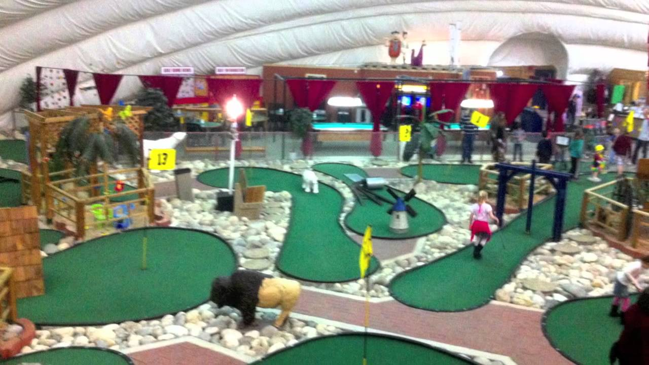 Winnipeg Golf Dome Mov Shot With An Iphone Youtube