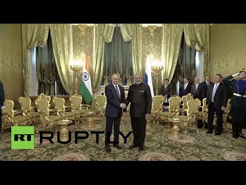 LIVE: Modi to meet Putin during official visit to Moscow