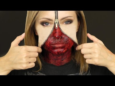 Maquillaje para halloween 2014 Maquillaje para halloween fcil y