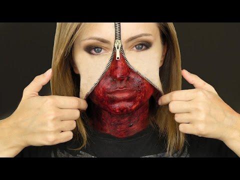 maquillaje para halloween 2014 maquillaje para halloween fcil y rpido - Como Maquillarse En Halloween