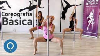 POLE DANCE FEMENINO: coreografía básica
