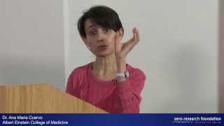 Autophagy and Intracellular Aggregates - Dr. Ana Maria Cuervo