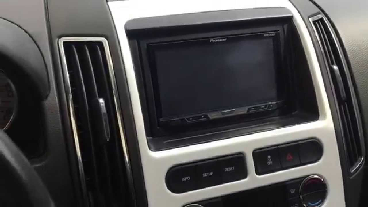 how to install aftermarket stereo ford edge