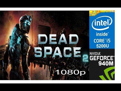 Dead Space 2 on HP Pavilion 15-ab032TX, Max Setting 1080p, Core i5 5200u + Nvidia Geforce 940m