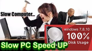 100 disk usage windows 10