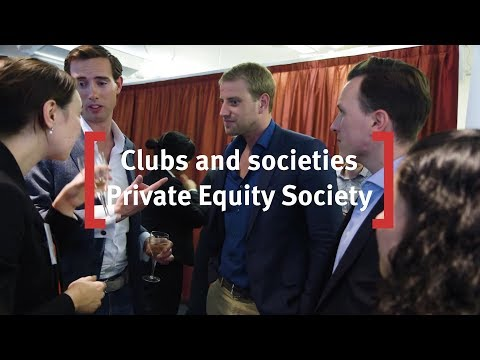 Cass Business School: Clubs and Societies - Private Equity Society