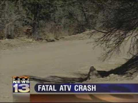3 31 08 4 pm atv crash kills girl youtube. Black Bedroom Furniture Sets. Home Design Ideas