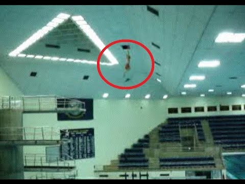50 Foot Jump into Pool by US Naval Academy Midshipman